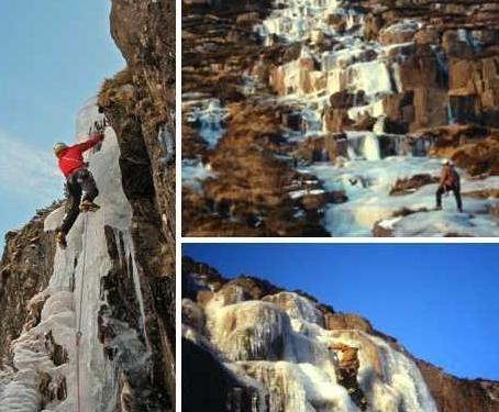 世界十大冰冻瀑布壮美如仙境